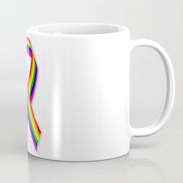 LGBT Awareness Ribbon Coffee Mug