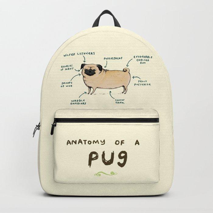 Anatomy of a Pug Rucksack