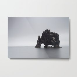 Sea stack Metal Print