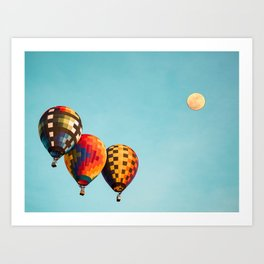 Air Balloons 4 Art Print