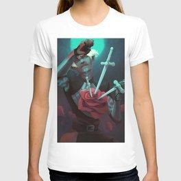3 of swords T-shirt