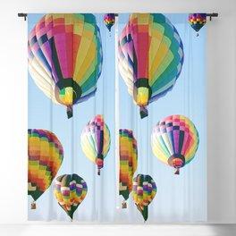 Hot Air Balloon Festival Blackout Curtain