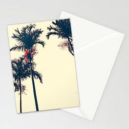 Florida Palm Navy Trees Sketch Art - Andrea Mora Bespoke Art Sunny Skies 20 Stationery Cards