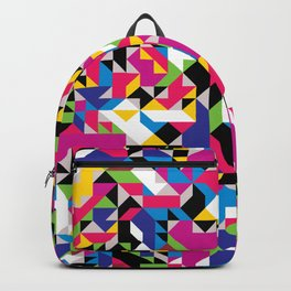 Off-Beat Geometric Shapes V.19 Backpack