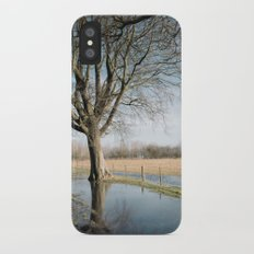 a cold afternoon... iPhone X Slim Case