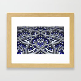 Levels and Vibrations Framed Art Print