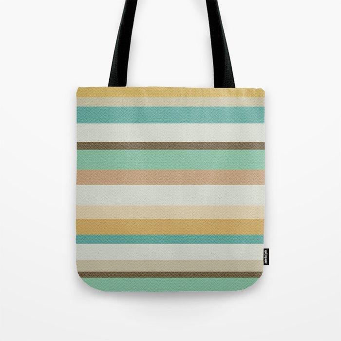 Victorian Stripes Tote Bag
