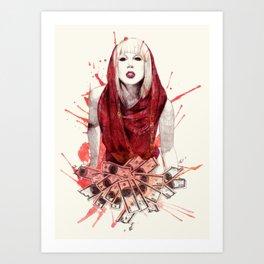 Beautiful Dirty Rich Art Print