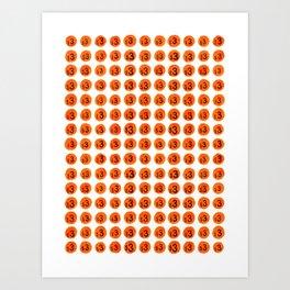 3 Dots Art Print