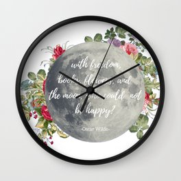 Who Could Not Be Happy? Wall Clock