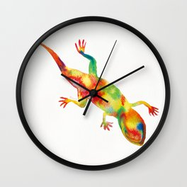 Mr. Lizard 1 Wall Clock