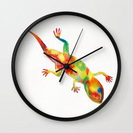 Mr. Lizard 1 Wall Clock