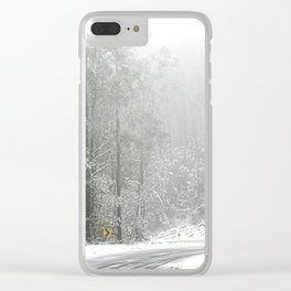 Down the Summit Clear iPhone Case