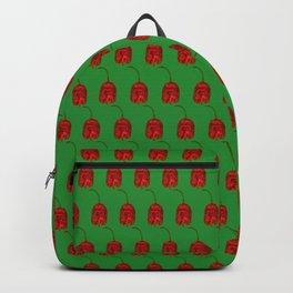 Carolina Reaper On Green Backpack