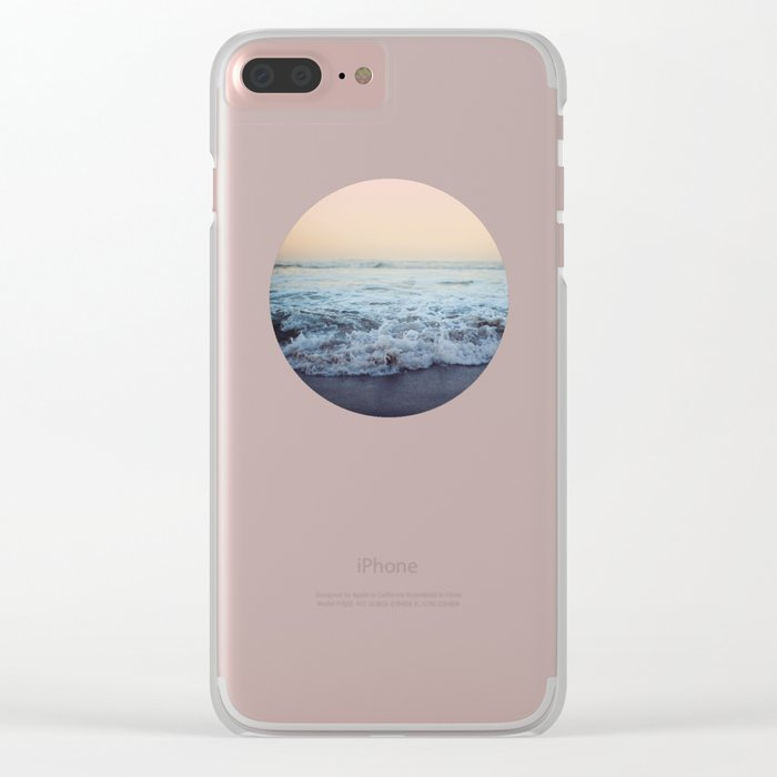 Crash into Me Clear iPhone Case