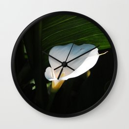 gleaming lily Wall Clock
