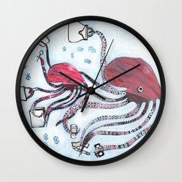 Bargain Hunters Wall Clock