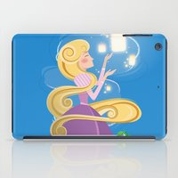 rapunzel iPad Cases featuring Rapunzel by LindseyCowley