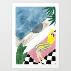 Avtandil  Art Print