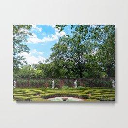 Tryon Palace Gardens Metal Print