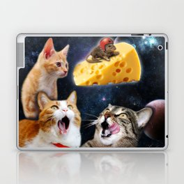 Cats and the mouse on the cheese Laptop & iPad Skin