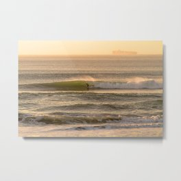 Cali Coast Surf Metal Print
