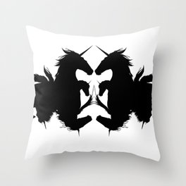Equus Throw Pillow