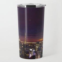 NYC from Rockefeller Travel Mug