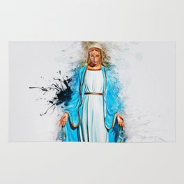 The Virgin Mary Rug
