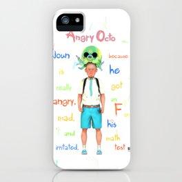 Angryocto - Joun's Math grade iPhone Case