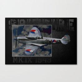 Spitfire 3W-17 Canvas Print