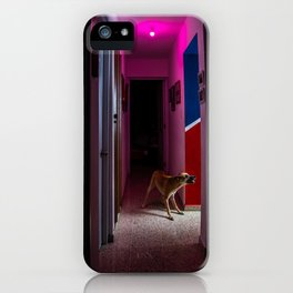 Eva at night iPhone Case