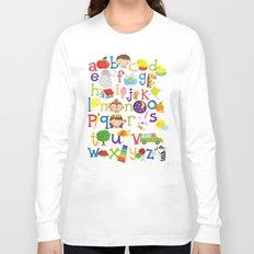 Wedgienet's Alphabet Long Sleeve T-shirt