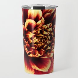 La Dahlia Red Travel Mug