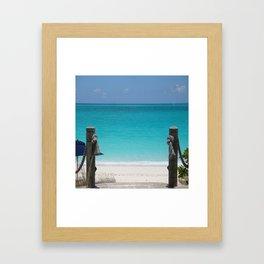 Gateway to the Caribbean Framed Art Print
