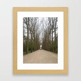Entrance to Chateau Chenonceau Framed Art Print