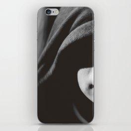 Black and White iPhone Skin