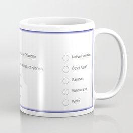 The race question Coffee Mug