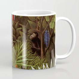 """Henri Rousseau """"Exotic landscape"""", 1908 Coffee Mug"""
