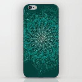 Blue Mandala iPhone Skin