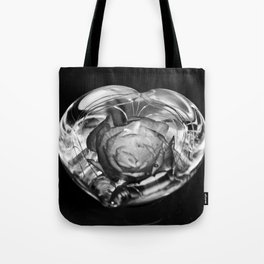 beauty and the flower Tote Bag