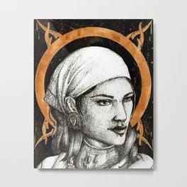 Ladies of Dragon Age: Isabela Metal Print