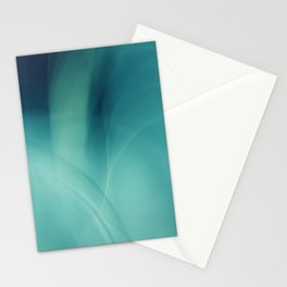 Underwater - Deep Blue Sea (abstract) Stationery Cards