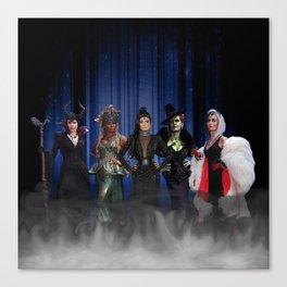Queens of Darkness - 5 Queens Canvas Print