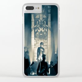 He is. Clear iPhone Case