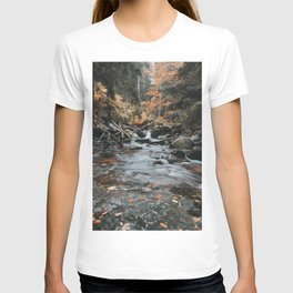 Autumn Creek - Landscape and Nature Photography T-shirt