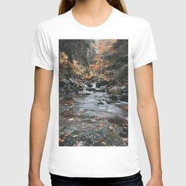 Autumn Creek - Landscape and Nature Photography T-shirt