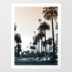 Los Angeles Art Print