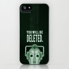 Doctor Who: Cybermen Print iPhone (5, 5s) Slim Case