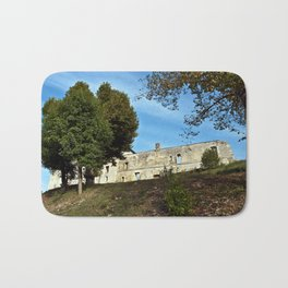 Abbey in south-west of France Bath Mat